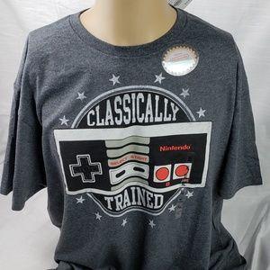Nintendo Classically Trained NES Controller Shirt